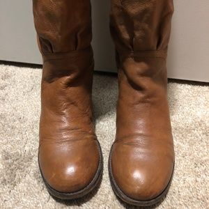 Marc By Marc Jacobs Shoes - Marc by Marc Jacobs Camel Tall Leather Boots Size